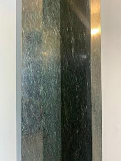Lella Massimo Vignelli 1980s Marble Floor Lamp Wagneriana  - 1731060