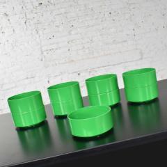 Lella Massimo Vignelli Heller dinnerware by lella massimo vignelli in kelly green 58 pieces napkins - 1682048
