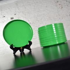 Lella Massimo Vignelli Heller dinnerware by lella massimo vignelli in kelly green 58 pieces napkins - 1682054