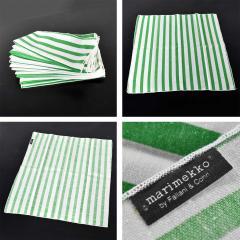 Lella Massimo Vignelli Heller dinnerware by lella massimo vignelli in kelly green 58 pieces napkins - 1682059