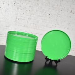 Lella Massimo Vignelli Heller dinnerware by lella massimo vignelli in kelly green 58 pieces napkins - 1682060