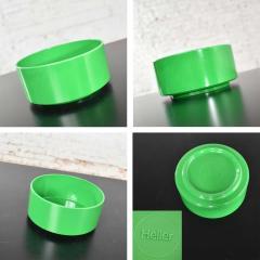 Lella Massimo Vignelli Heller dinnerware by lella massimo vignelli in kelly green 58 pieces napkins - 1682089