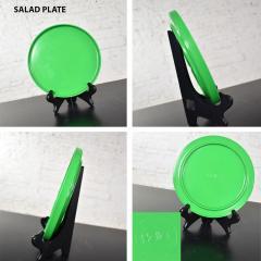 Lella Massimo Vignelli Heller dinnerware by lella massimo vignelli in kelly green 58 pieces napkins - 1682093