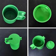 Lella Massimo Vignelli Heller dinnerware by lella massimo vignelli in kelly green 58 pieces napkins - 1682111