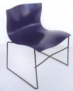 Lella Massimo Vignelli Knoll Ergonomic Handkerchief Chairs by Massimo and Lelia Vignelli circa 1980s - 1240341