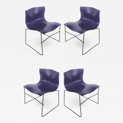 Lella Massimo Vignelli Knoll Ergonomic Handkerchief Chairs by Massimo and Lelia Vignelli circa 1980s - 1242152