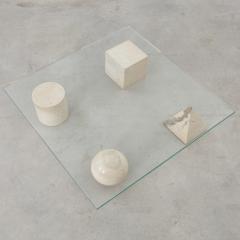 Lella Massimo Vignelli Vignelli Metafora coffee table Casigliani Italy 1979 - 1229946