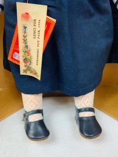 Lenci Rare Vintage 1980s Lenci Doll Serial Number 46 - 1676441