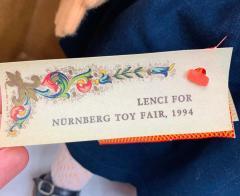 Lenci Rare Vintage 1980s Lenci Doll Serial Number 46 - 1676445