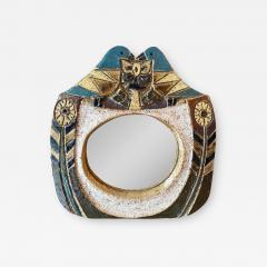 Les Argonautes Ceramic Mirror France 1960s - 1974964