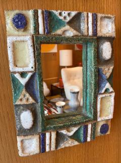 Les Argonautes Ceramic Mirror France 1960s - 1989194