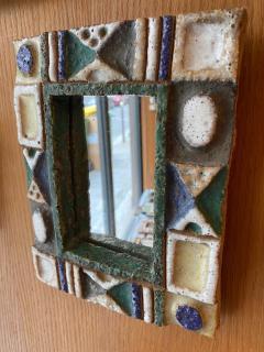 Les Argonautes Ceramic Mirror France 1960s - 1989196