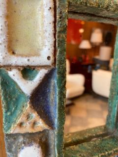 Les Argonautes Ceramic Mirror France 1960s - 1989199