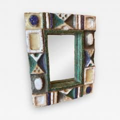 Les Argonautes Ceramic Mirror France 1960s - 1994217