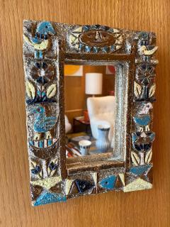 Les Argonautes Ceramic Mirror France 1960s - 1990405
