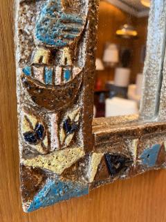 Les Argonautes Ceramic Mirror France 1960s - 1990406