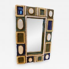 Les Argonautes Ceramic Mirror France 1960s - 2002366