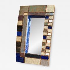 Les Argonautes Ceramic Mirror France 1960s - 2011385