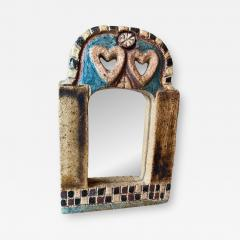 Les Argonautes Ceramic Mirror France 1960s - 2022147