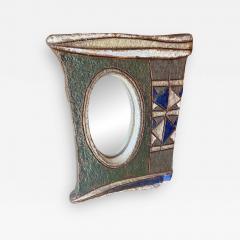 Les Argonautes Ceramic Mirror France 1960s - 2081186
