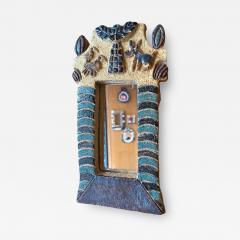Les Argonautes Ceramic Mirror France 1960s - 2127147