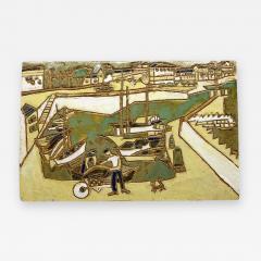 Les Argonautes Ceramic Panel France Vallauris 1960s - 2131769