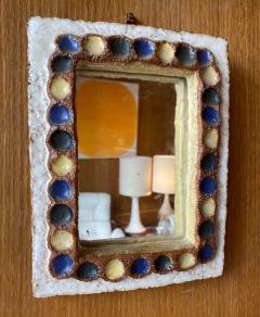 Les Argonautes Les Argonautes Ceramic Mirror France 1960s - 2031857