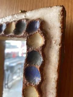 Les Argonautes Les Argonautes Ceramic Mirror France 1960s - 2031858