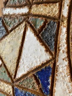 Les Argonautes Les Argonautes Ceramic Mirror France 1960s - 2060432