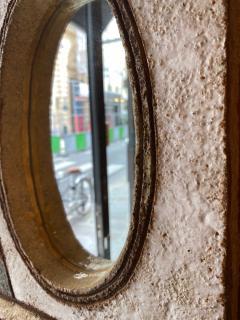 Les Argonautes Les Argonautes Ceramic Mirror France 1960s - 2060433
