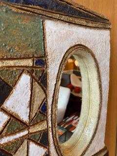 Les Argonautes Les Argonautes Ceramic Mirror France 1960s - 2060434