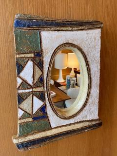 Les Argonautes Les Argonautes Ceramic Mirror France 1960s - 2060435