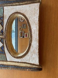 Les Argonautes Les Argonautes Ceramic Mirror France 1960s - 2060436