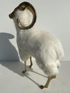 Les Lalanne Brass Mountain Sheep or Ram Sculpture - 1275675