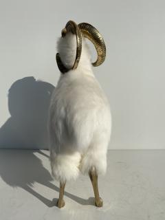 Les Lalanne Brass Mountain Sheep or Ram Sculpture - 1275676