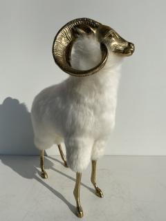 Les Lalanne Brass Mountain Sheep or Ram Sculpture - 1275678