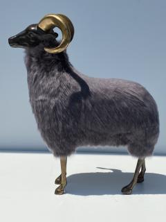 Les Lalanne Brass Ram Sheep Sculpture - 2075365