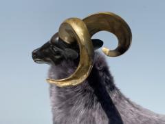 Les Lalanne Brass Ram Sheep Sculpture - 2075370