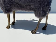 Les Lalanne Brass Ram Sheep Sculpture - 2075371