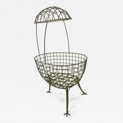 Les Lalanne Hen shaped astounding cradle in the style of lalanne - 1509261