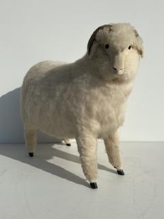 Les Lalanne Sheep Sculpture Footrest - 1275664