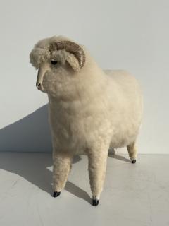 Les Lalanne Sheep Sculpture Footrest - 1275665