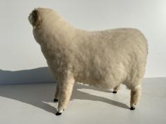 Les Lalanne Sheep Sculpture Footrest - 1275666