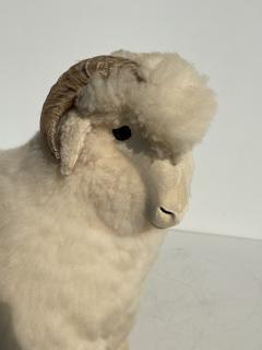 Les Lalanne Sheep Sculpture Footrest - 1275670
