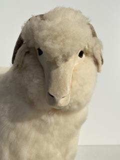 Les Lalanne Sheep Sculpture Footrest - 1275671