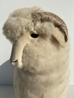 Les Lalanne Sheep Sculpture Footrest - 1275672