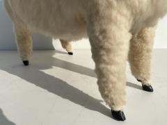 Les Lalanne Sheep Sculpture Footrest - 1275673