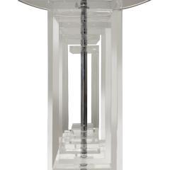 Les Prismatiques Les Prismatiques Exceptional Lucite Table Lamp 1970s - 666054