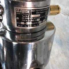 Leuchtenbau Wittenberg 1970s German Industrial Aluminium Glass Explosion Proof LED Ceiling Striplight - 1117296