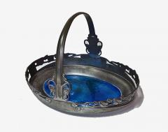Liberty Co Archibald Knox Liberty Co Pewter and Turquoise Enamel Basket C 1900 - 241742